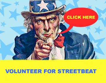 Volunteer for StreetBeat